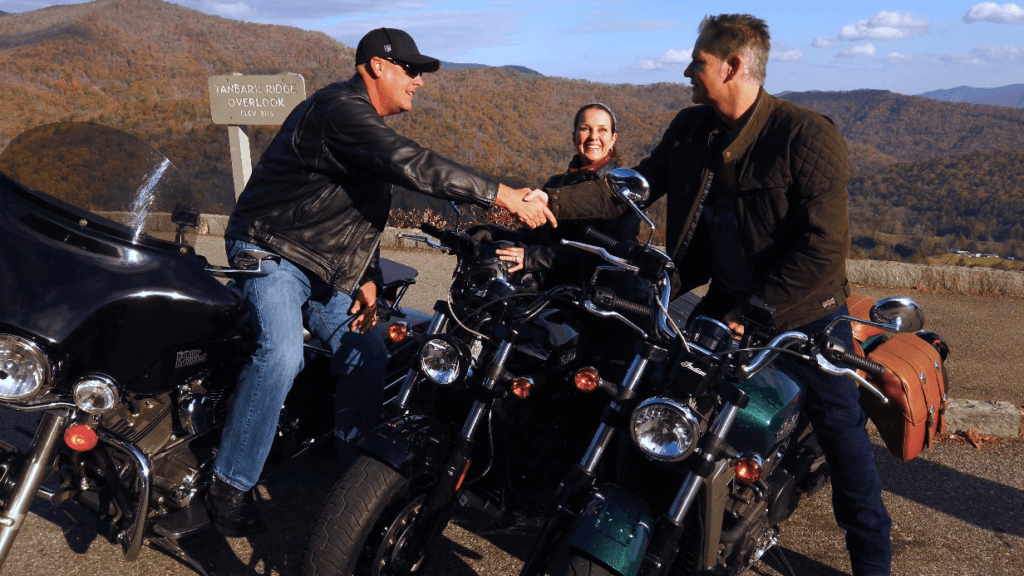 Authentic America motorcycle tour