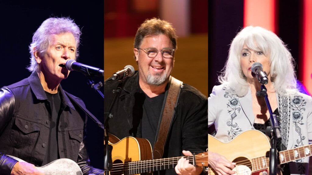Rodney Crowell, Vince Gill and Emmylou Harris